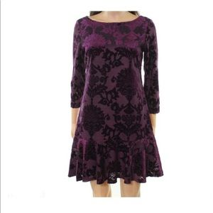 Vince Camuto plum dress